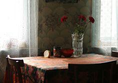 Ольга Енаева - Простой деревенский натюрморт с гвоздиками / Olga Enaeva - Rustic interior still life with carnations