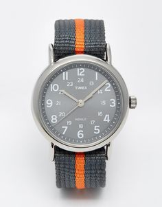 Image 1 of Timex Originals Weekender Watch With Nylon Strap