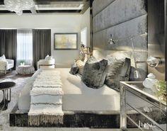 moody-modern-glam-plush-gray-bedroom-velvet-interior-design