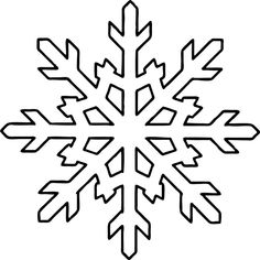 Free Printable Snowflake Coloring Pages For Kids - AniFil - Free Printable Snowflake Coloring Pages For Kids Snowflake Shape Coloring Pages - Snowflake Outline, Snowflake Stencil, Snowflake Template, Simple Snowflake, Snowflake Shape, Snowflake Craft, Snowflake Pattern, Snowflake Quilt, Frozen Snowflake