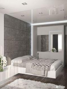 Chambre complète Loft : chambre à coucher adulte  Meubles ...