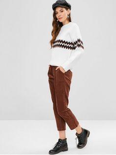 74ca0c5be01d Light Brown Fall No Zipper Pencil Ninth Solid Loose Mid Casual Pocket  Zipper Corduroy Pants Corduroy