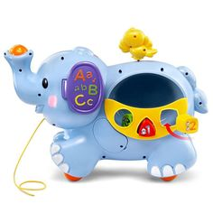 Send your kids on new educational adventures with this Pull & Discover Activity Elephant by VTech. Rare Animals, Animals And Pets, Baby Calm, Elephants Never Forget, Elephant Trunk, Toddler Meals, Toddler Food, Jouer, Toddler Fashion