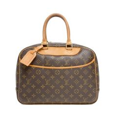 Louis Vuitton Deauville Monogram Canvas Brown Bag - Satchel. Save 58% on the Louis Vuitton Deauville Monogram Canvas Brown Bag - Satchel! This satchel is a top 10 member favorite on Tradesy. See how much you can save