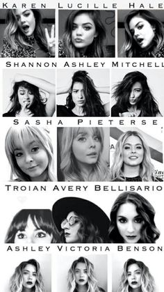 Pretty little liars Pretty Little Liars Names, Frases Pretty Little Liars, Orphan Black, Pll Logic, Grey's Anatomy, Pll Memes, Pll Quotes, Memes Lindos, Shadowhunters