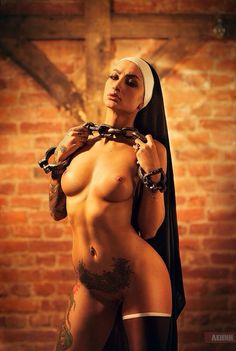 Nude naked Nuns undressed