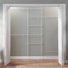 Closetmaid Closet Organizer Kit with Shoe Shelf 5 to 8 - Closet Organizers - Ideas of Closet Organizers Closet Drawer System, Closet Drawers, Closet Storage Systems, Wire Closet Shelving, Closet Shelves, Open Shelves, White Closet, Closet Layout, Closet Remodel