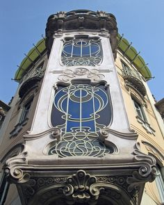 Turin - Italian Capital of Art Déco. By Pietro Fenoglio, Art Nouveau Architecture, Beautiful Architecture, Beautiful Buildings, Architecture Details, Jugendstil Design, Vacation Wishes, Academic Art, Art Nouveau Design, Name Art