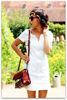 Summer | Casual White Dress