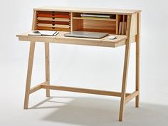 Wooden secretary desk / dressing table BELLE by sixay furniture design Szikszai László