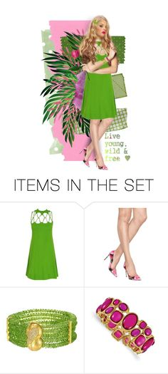 """""""Live Young, Wild & Free"""" by kbarkstyle ❤ liked on Polyvore featuring art"""