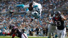Cam Newton's flying touchdown and more scenes from the Carolina ...