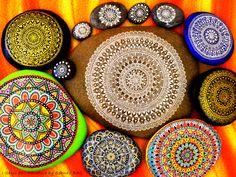 My precious mandalas all together #paintedstones