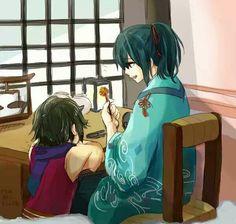 Yuzuki~! He's my darling <3