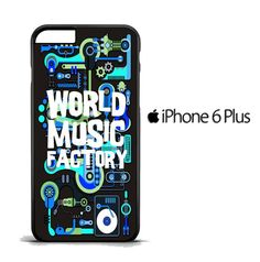 World music R0052 iPhone 6 Plus | 6S Plus Case