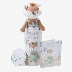 Felix Fox Knit Toy & Book Set