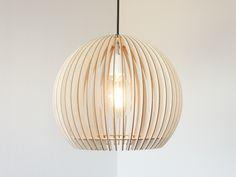 SCOBIS - STELLA - Lampenschirm aus Holz von SCOBIS auf DaWanda.com