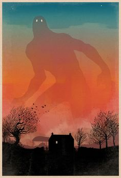 Evening Giant by Matthew Griffin, via Behance http://matthewjgriffin.bigcartel.com/product/the-evening-giant