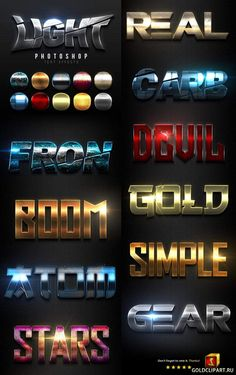 Light Text Effects 23265221 Photoshop Fonts, Photoshop Text Effects, Photoshop Brushes, Photoshop Tutorial, 3d Text Effect, Web Design, Logo Psd, Game Logo, Photoshop Photography