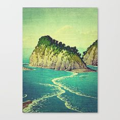 This link is an affilate link! Check out society6curated.com for more! @society6 #illustration #wall #apartment #decor #homedecor #buy #shop #sale #drawing #canvas #artprint #shopping #apartmentgoals #sophomoreyear #sophomore #year #college #student #home #house #gift #idea #art #japan #japanese #japaneseart #landscape #nature #beauty #beautiful #color #colors #landscapeart #digital #painting #drawing #buyart #artforsale #water