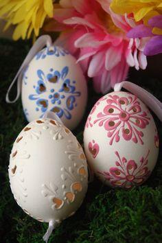 Lacy Handcut Easter Eggs - Boutique Victoria
