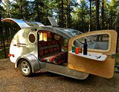 vistabule teardrop trailer windows lights ideas custom theoneforme MN minnesota builders