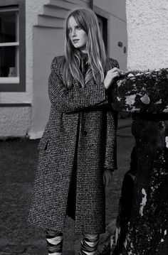 The Inner Hebrides Holiday Magazine Fall/Winter 2014 Photographer Josh Olins model Rianne van Rompaey