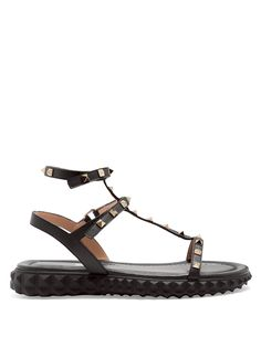 Click here to buy Valentino Free Rockstud leather sandals at MATCHESFASHION.COM