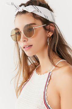 Karma Metal Round Sunglasses | Urban Outfitters