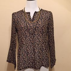 Brand-New Chiffon Top Floral Print Chiffon Top Floral Print Spring and summer wear no️️no Trades Tops