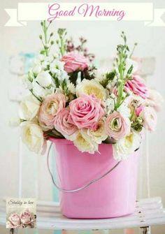 Flowers From Gypsy Purple Home My Flower, Fresh Flowers, Pretty In Pink, Pink Flowers, Beautiful Flowers, Draw Flowers, Flowers Vase, Flowers Decoration, Bouquet Flowers