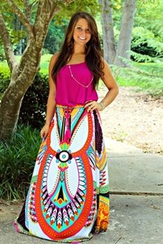 Life's A Dance Maxi Skirt $43.99 #SouthernFriedChics