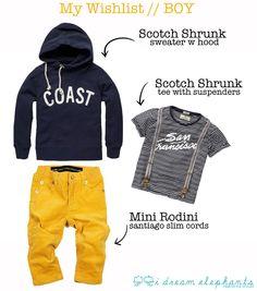 Scotch Shrunk, Mini Rodini BY:minor de:tales: Make a Wishlist!
