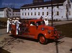 1941 Ford Rouge Naval Service School fire truck