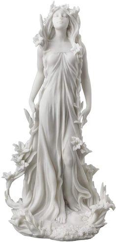 Aphrodite Greek Goddess of Love, Beauty, Fertility Statue Figurine Mythology Greek Goddess Statue, Aphrodite Goddess, Greek Goddess Tattoo, Greek Goddess Dress, Aphrodite Tattoo, Fertility Statue, Aphrodite Aesthetic, Greek Mythology Art, Roman Mythology