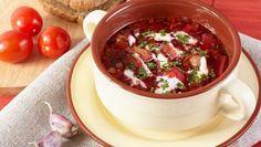 Moskovský boršč Chili, Food And Drink, Soup, Chile, Soups, Chilis