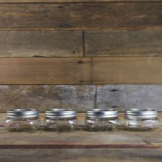Ball Elite 1/2 Pint Canning Jars - Set of 4 - Home Canning Supplies