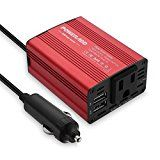 Review for Poweradd 150W Car Power Inverter 12V/DC to 110V/AC Converter with Dual USB Ports... - Melissa Selser  - Blog Booster