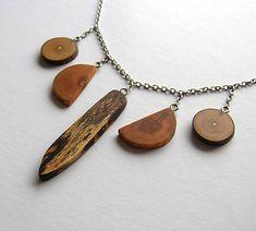 wlkr / Drevené náhrdelníky/Retiazkové / Brezový špic + Spikes, Pendant Necklace, Jewelry, Fashion, Cnd Nails, Moda, Jewlery, Studs, Jewerly