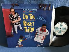 RARE Vintage Do The Right Thing  Original by sweetleafvinyl