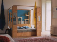sottsass intimate space bed