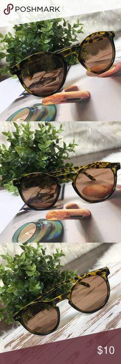 Tortoise Shell Round Lens Sunglasses! NEW New never worn! #S20 Fashion Nova Accessories Sunglasses