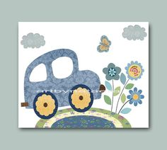 Nursery Art Print Boy decor, $14.00