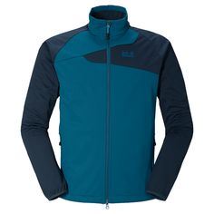 Very water-repellent, windproof and stretchy softshell jacket - Softshell jackets - Jackets - Apparel - Men - Jack Wolfskin International