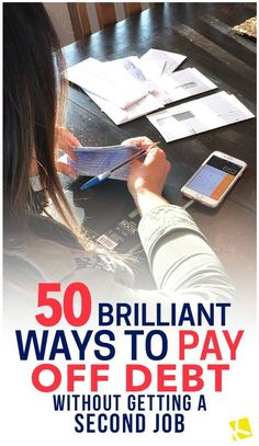 Great ways to pay off debt without job