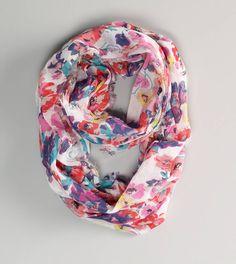 ae floral loop scarf. want.