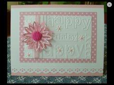 Happy Birthday! Embossing Folder 8.1.14