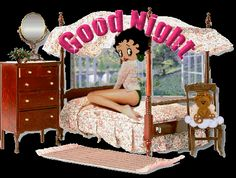 bettyboop goodnights for facebook | Good Night Betty Boop