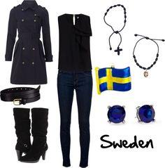 """Sweden"" by winterlake25 on Polyvore"