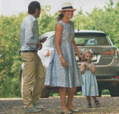 happyroyals:  Prince Daniel, Crown Princess Victoria and Princess Estelle spent part of their summer holiday in Belgium; during early August, they met privately with the Duke and Duchess of Cambridge during the WWI commemoration, and had a dinner with the Belgian Royals at Palais des Eveques.  Victoria is godmother to Princess Eléonore of Belgium.